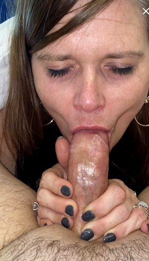 A Lot Of Love Goes Into Sucking His Cock I Just Adore It