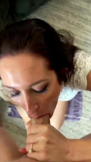 Massaging His Ass While My Lips Are Wrapped Around His Shaft!