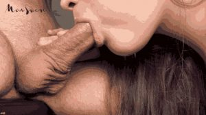 No-hands BJ Leads To A Pulsating Cock Releasing A Hot Load Into Her Eager Mouth