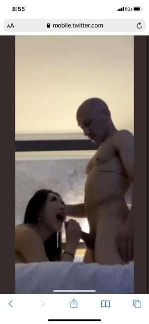 Old Man Gets Some Head From A Little Asian Tart