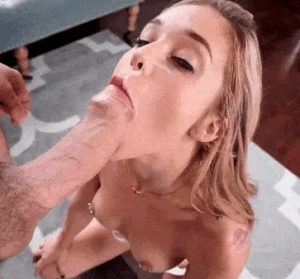 This BJ Led A Facial And A Mouthful Of Cum